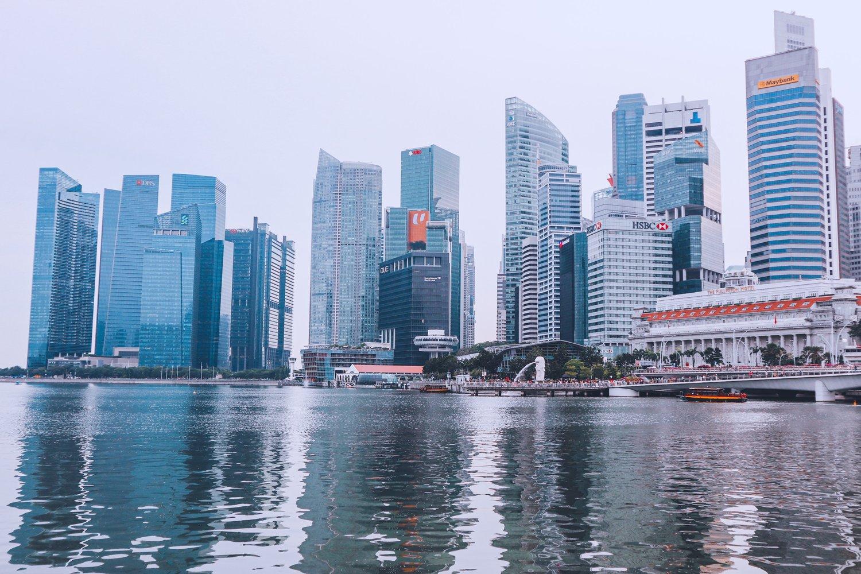 singapore skyscrapers business