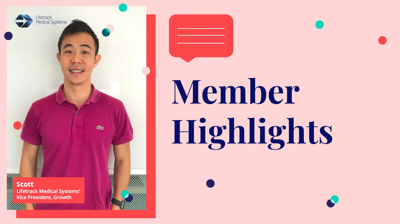 Member Highlight: Lifetrack Medical Systems